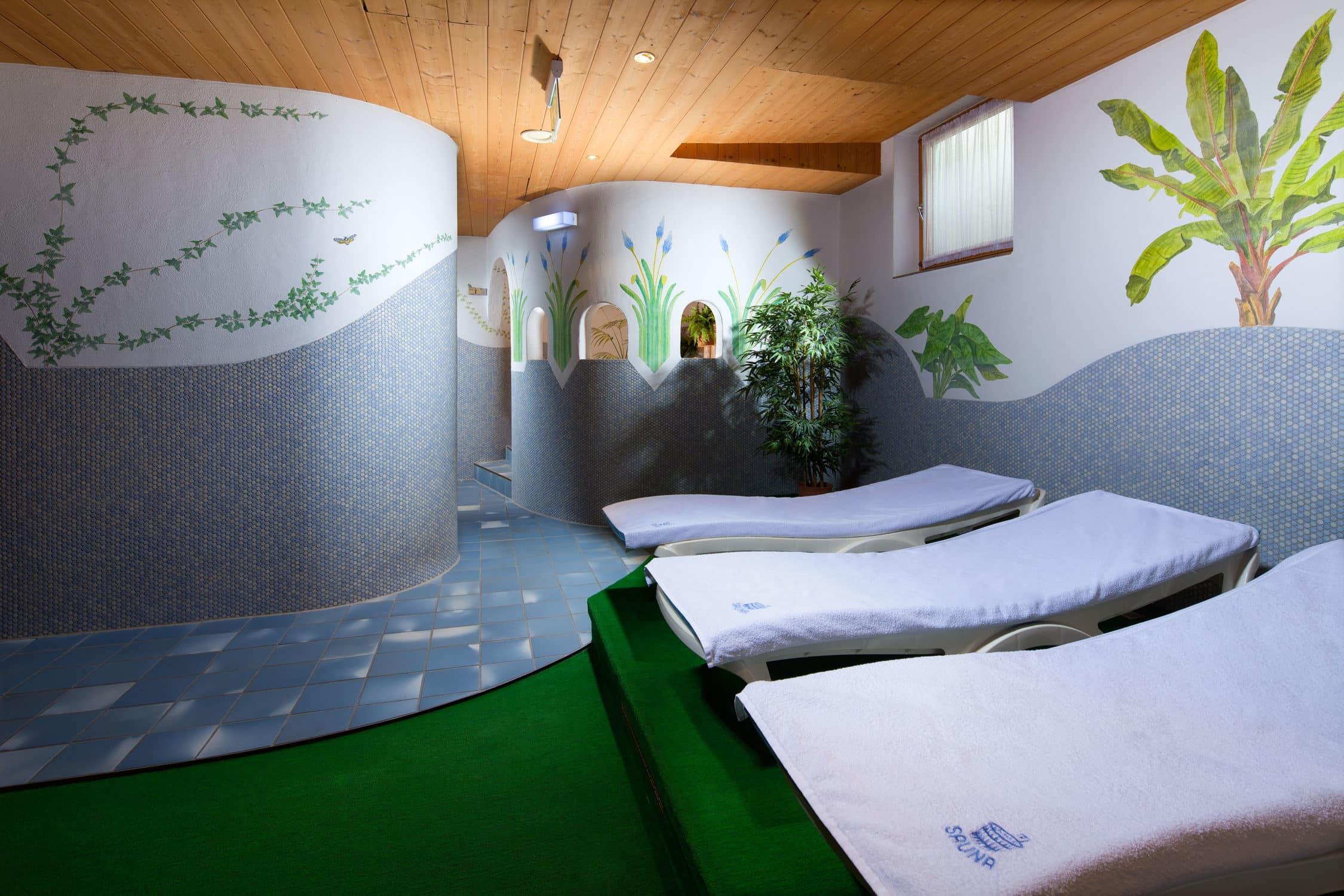 Entspannungsraum in unserem Hotel Gasthof Nutzkaser, Wellness und Entspannung pur