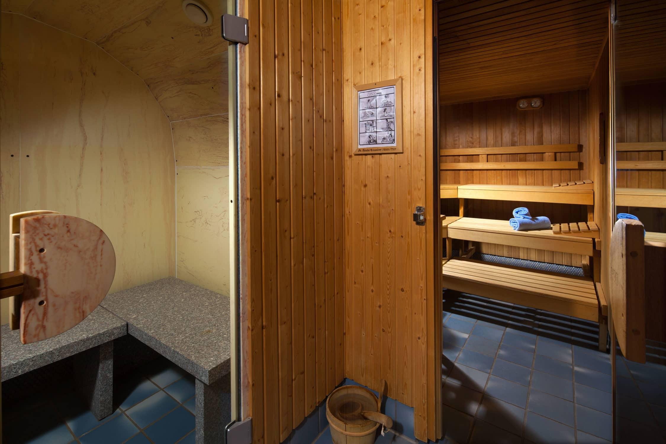 Saunabereich in unserem Hotel Gasthof Nutzkaser, Wellness und Entspannung pur