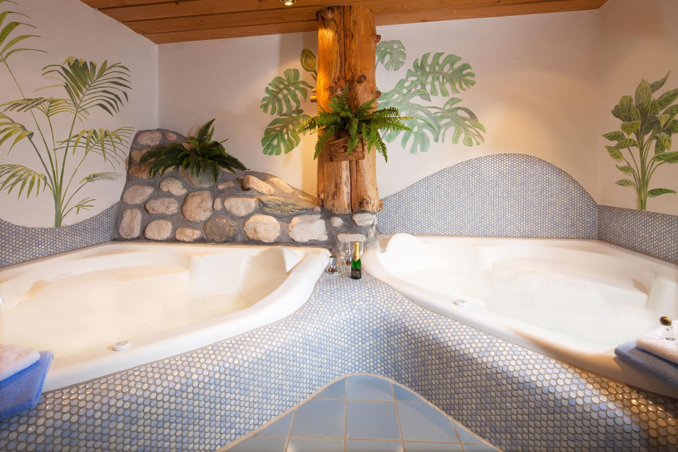 Whirpools in unserem Hotel Gasthof Nutzkaser, Wellness und Entspannung pur